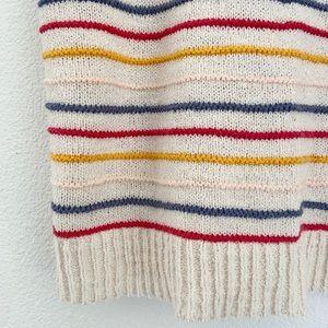 Madewell Tops - {madewell} scoop sweater tank top allgood rainbow